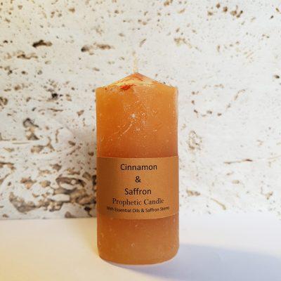 Cinnamon and Saffron Prophetic Candle