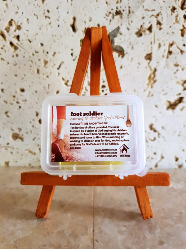 Foot Soldier Anointing Oil