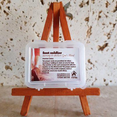 Foot Soldier Prayer Cards